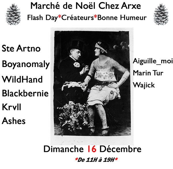 Evenement tatouage de noel à lyon
